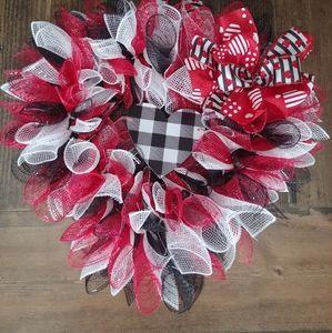 ❤Valentine's Wreath
